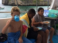 Skolresa Snorkling Koh Haa 5