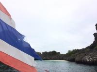 Skolresa Snorkling Koh Haa flagga
