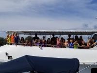 Skolresa Snorkling Koh Haa gruppbild båt