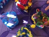 Storsamling Batik knytet 4
