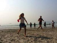 22 Stafett på stranden