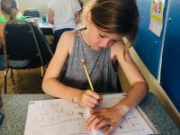 Skolarbete i klassrum Boo individuella arbetsscheman matematik