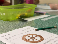 Skolarbete i klassrum Ling 1