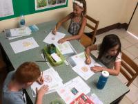 Skolarbete i klassrum Ling 2