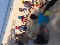 Samtal på stranden
