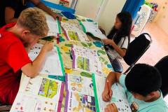 Mars 2020 Hua Hin - Skola och förskola