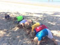Tabata övningar i förskoleklass