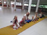 Besöker munktempel