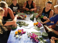 Thai-tema Loy kratong Storsamling (9)