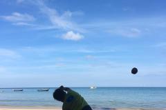 Stöta-kokosnöt